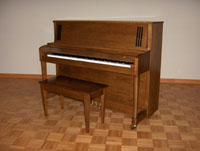 Piano for Library and Public Use