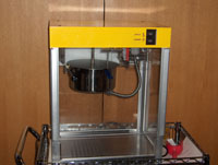Popcorn Machine for Library and Friends Events