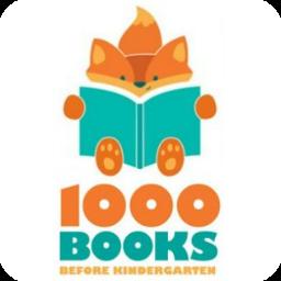 1000 Books Before Kindergarten - Logo
