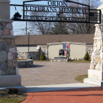 Entrance to the Orion Veterans Memorial