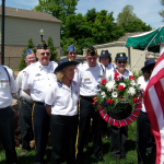 Laying the Memorial Day Wreath - 2009