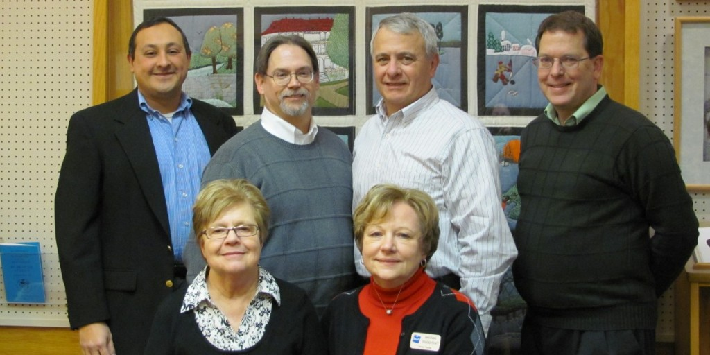 Back Row: Mike Luna, Bert Quinn, James Phillips, James Abramczyk   Front Row: Mary Pergeau, Mary Anne Thorndycraft