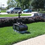 Military Cross Statue