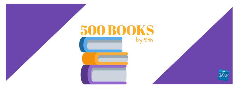 500 Books by 5th - Logo