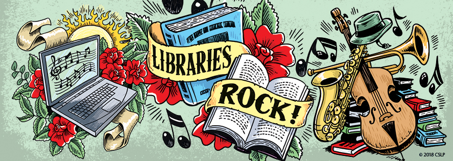 Summer Reading 2018 - Libraries Rock!