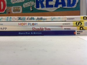 spine label poetry at the library