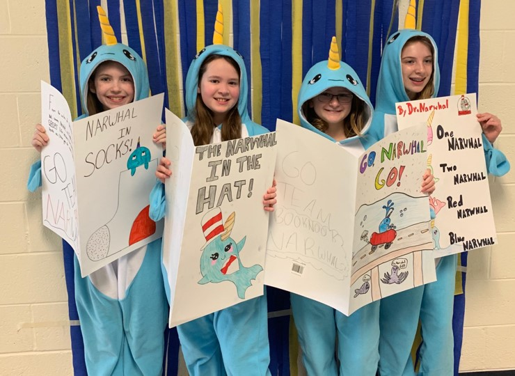 5th Grade Battle of the Books Team - BookNook Narwals