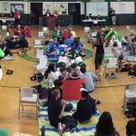 2016 Battle of the Books - Panorama of LOHS Gym