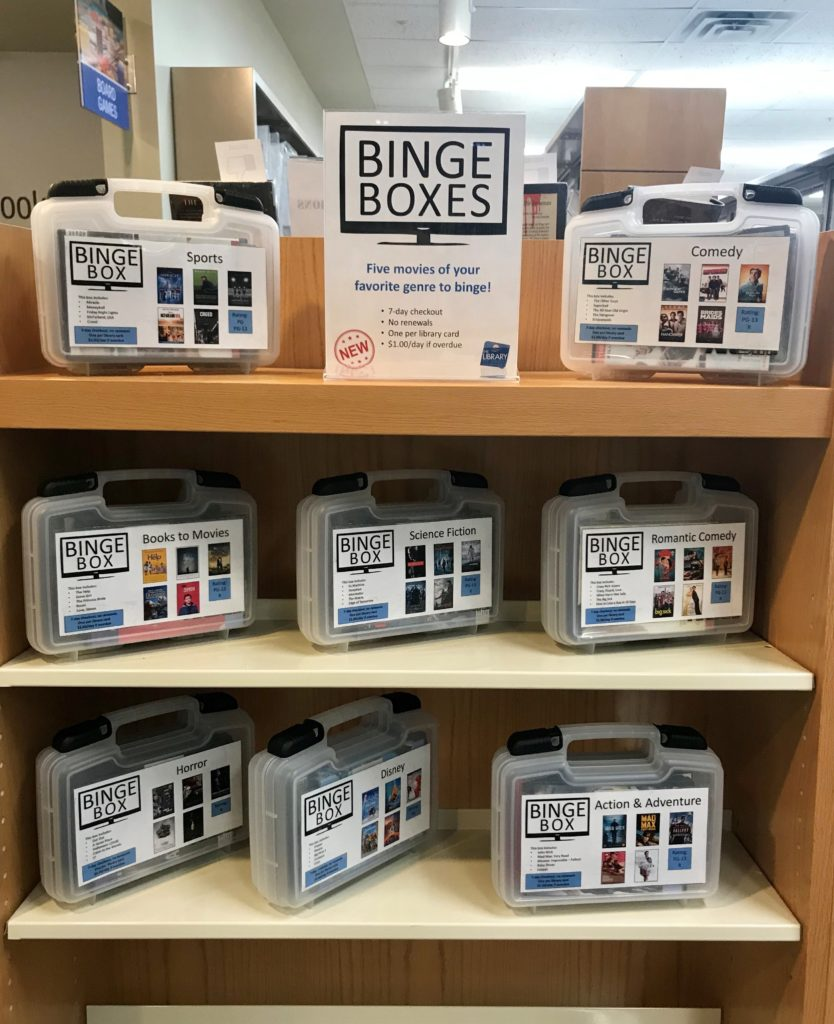 Binge Box Display