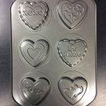 Valentine Hearts Cake Pan