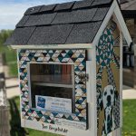Little Library at Orion Oaks Dog Park