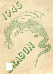 Cover of the 1945 Dragon - Lake Orion High School Yearbook