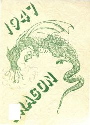 Cover of the 1947 Dragon - Lake Orion High School Yearbook