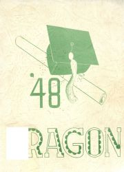 Cover of the 1948 Dragon - Lake Orion High School Yearbook
