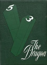 Cover of the 1953 Dragon - Lake Orion High School Yearbook