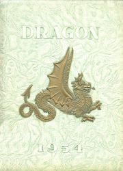 Cover of the 1954 Dragon - Lake Orion High School Yearbook