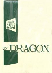 Cover of the 1957 Dragon - Lake Orion High School Yearbook