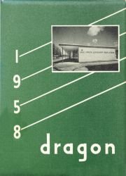 Cover of the 1958 Dragon - Lake Orion High School Yearbook