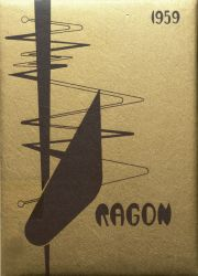 Cover of the 1959 Dragon - Lake Orion High School Yearbook