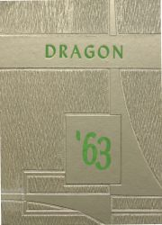 Cover of the 1963 Dragon - Lake Orion High School Yearbook