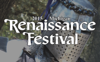 2015 Michigan Renaissance Festival logo