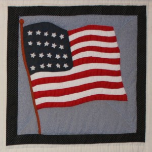 Block 4 - United States Flag - 1837