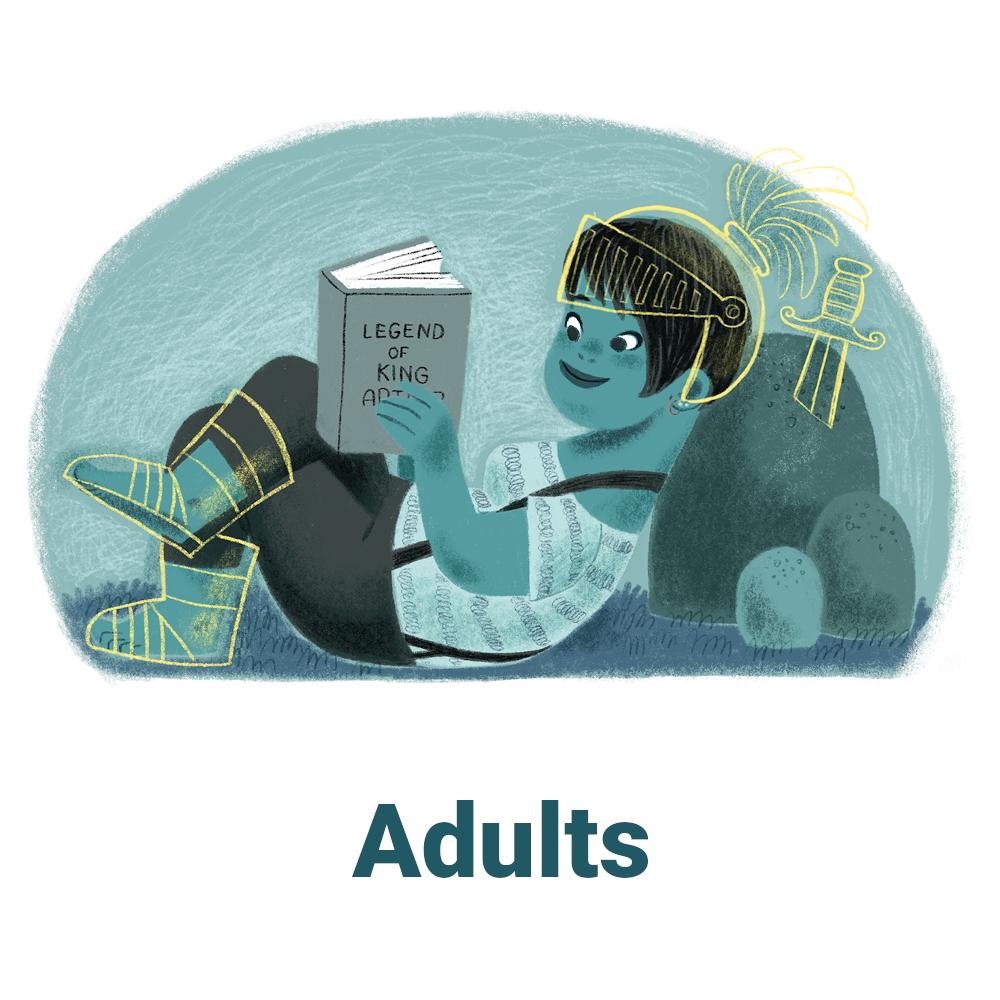 Summer Reading Logo - Adults