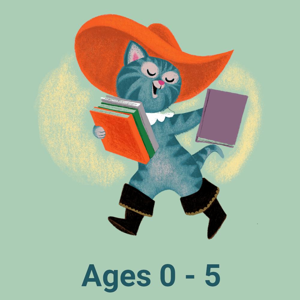 Summer Reading Logo - Ages 0 through 5