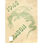 Cover of the 1945 Dragon Lake Orion High School Yearbook